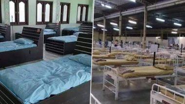 गुजरातच्या जहांगीरपूर येथील मस्जिद आणि वडोदरामधील बीएपीएस श्री स्वामीनारायण मंदिराचे कोव्हीड-19 रुग्णालयात रुपांतर