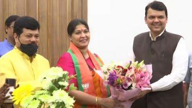 Trupti Sawant Joins BJP: शिवसेनेच्या माजी आमदार तृप्ती सावंत यांचा भाजपमध्ये प्रवेश