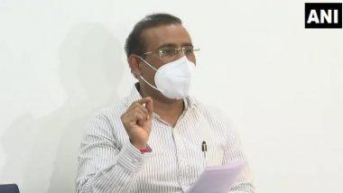 कोविड-19 लस आणि ऑक्सिजन पुरवठ्यासाठी आरोग्यमंत्री राजेश टोपे यांची पुन्हा एकदा केंद्र सरकारकडे मागणी