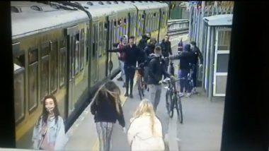 Dublin Horror:  मुलांकडून रेल्वेस्टेशनवर झालेल्या छेडछाडीदरम्यान एक मुलगी रेल्वे आणि फलाटामधल्या जागेत पडली