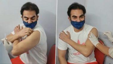 Arbaaz Khan घेतला कोरोनाचा पहिला डोस, चाहत्यांना दिला महत्त्वाचा संदेश