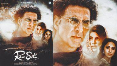 Akshay Kumar पुढील महिन्यापासून पुन्हा सुरू करणार 'Ram Setu' चित्रपटाचे शुटिंग; फिल्मसिटीमध्ये तयार करण्यात आला गुफांचा सेट