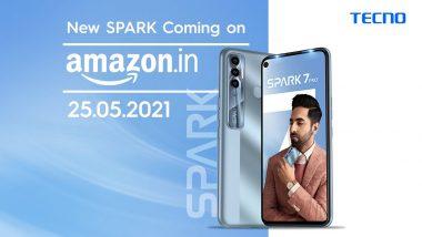 Tecno Spark 7 Pro भारतात 25 मे ला होणार लाँच, जाणून घ्या काय असतील खास वैशिष्ट्ये