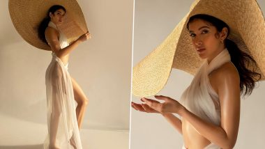 Shanaya Kapoor चे Transparent कपड्यामधील बोल्ड अंदाज पाहून चाहत्यांची उडेल झोप, See Pics
