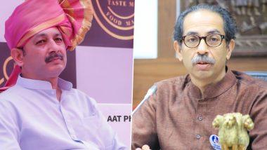 Maratha Reservation: संभाजीराजे छत्रपती यांचं मुख्यमंत्री उद्धव ठाकरे यांना पत्र; मराठा समाजासाठी केल्या 'या' मागण्या