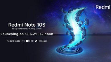Redmi Note 10S चे फिचर्स आले समोर, Amazon वर झाला लाईव