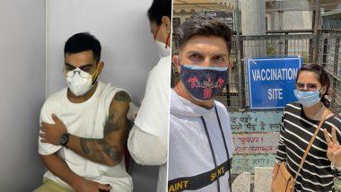 Virat Kohli, Ishant Sharma यांनी आज घेतला कोविड 19 प्रतिबंधात्मक लसीचा पहिला डोस; नागरिकांनाही लसीकरणात सहभागी होण्याचं आवाहन