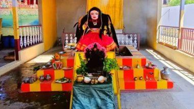 अंधश्रद्धेचा कळस! तामिळनाडूच्या मंदिरात बसवली 'कोरोना देवी'ची मूर्ती; सकाळ-संध्याकाळ होत आहे विधिवत पूजा (Watch Video)