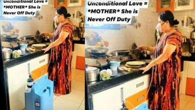 आईचे प्रेम की तिच्यावर अत्याचार? ऑक्सिजन सपोर्टवर असताना माऊली स्वयंपाक घरात बनवतेय पोळ्या; Viral Photo वरून सोशल मिडियावर नवा वाद (See Post)