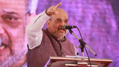 अनुच्छेद 370 हटवल्यानंतर केंद्रीय गृहमंत्री अमित शाह प्रथमच जम्मू कश्मीर दौऱ्यावर