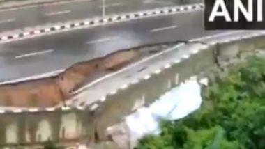 Arunachal Pradesh: अरुणाचल प्रदेशातील राष्ट्रीय महामार्ग-415 चा भाग अतिमुसळधार पावसामुळे कोसळला, Watch Video