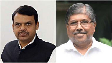 Maharashtra BJP: भाजपचे चंद्रकांत पाटील सांगतात 'औकातीत राहावं', देवेंद्र फडणवीस म्हणतात 'राज्याने काय माशा मारायच्या काय?'