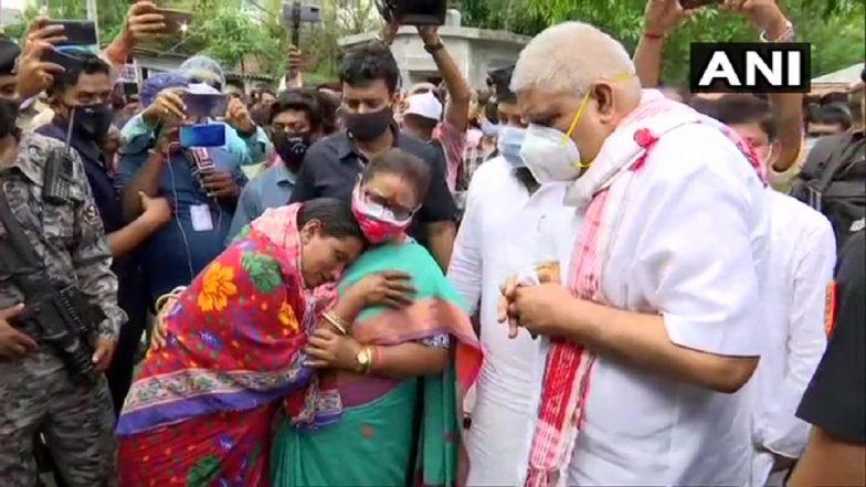 West Bengal: पश्चिम बंगालचे राज्यपाल जगदीप धनखर यांना दाखवले काळे झेंडे