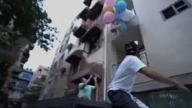 YouTuber Gaurav Sharma: कुत्र्याच्या पाठीला हायड्रोजन फुगे बांधून हवेत सोडल्याबद्दल युट्युबर गौरव शर्मा यास अटक