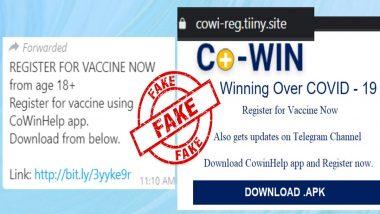 Fact Check: कोविड-19 लस रजिस्ट्रेशनसाठी CoWinHelp App ची होणार मदत? PIB ने केला Viral WhatsApp Message मागील खुलासा