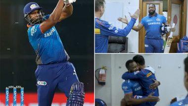 IPL 2021, MI vs CSK: मैदानावरील शौर्यानंतर Kieron Pollard चं ड्रेसिंग रूममध्ये परतल्यावर 'असं' झालं स्वागत; विरोधकांना दिलं प्रतिउत्तर, पहा व्हिडिओ