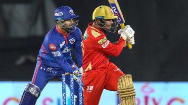 PBKS vs DC IPL 2021 Match 29: कर्णधार मयंक अग्रवालचे झुंजार अर्धशतक, पंजाबचे दिल्लीला विजयासाठी 167 धावांचे दमदार आव्हान