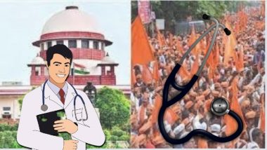 Maratha Reservation:  मराठा आरक्षण रद्द झाल्याचा 'त्या' विद्यार्थ्यांना धोका नाही;  पदव्युत्तर वैद्यकीय अभ्यासक्रमाबाबत सर्वोच्च न्यायालयाचा दिलासा