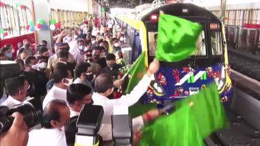 Mumbai Metro: मुंबई मेट्रो 2A , 7 चाचणीस सुरुवात, मुख्यमंत्री उद्धव ठाकरे यांच्या हस्ते उद्घाटन