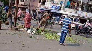 Maharashtra: नागपूर मध्ये लॉकडाउनदरम्यान महिलेकडून विक्री केल्या जाणाऱ्या भाज्या फेकून देणाऱ्या पोलिस अधिकाऱ्याच्या विरोधात योग्य कारवाई केली जाणार