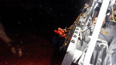 तौक्ते चक्रीवादळात ओएनजीसीचं जहाज बुडालं