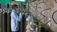 कर्नाटक सरकार बेल्लारी येथील स्टील प्लांटमधून ऑक्सिजनचा पुरवठा खंडित करीत असल्याचा मंत्री सतेज पाटील यांचा आरोप; केंद्राने हस्तक्षेप करण्याची मागणी