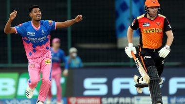RR vs SRH IPL 2021: बुडत्याचा पाय खोलात! SRH पराभवातून पराभवाकडे; राजस्थान रॉयल्सच्या भेदक गोलंदाजीसमोर हैदराबादचा55 धावांनी पराभूत