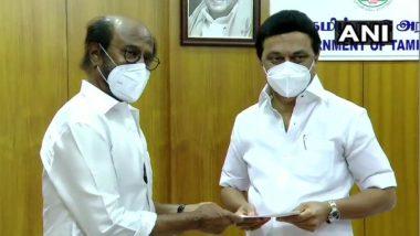 Chennai: अभिनेते रजनीकांत यांची कोविड रिलिफ फंडासाठी 50 लाख रुपयांची मदत