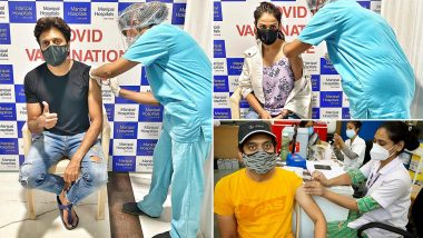 COVID 19 Vaccination: रितेश देशमुख, सोनाक्षी सिन्हा ते अमेय वाघ कलाकारांनी कोविड 19 लस घेत शेअर केले खास फोटो
