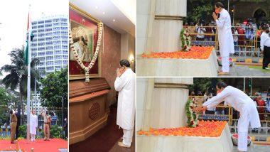 Maharashtra Din 2021: मुख्यमंत्री उद्धव ठाकरे यांच्या हस्ते महाराष्ट्र दिनी हुतात्मा चौक वर  स्मारकास पुष्पचक्र अर्पण, मंत्रालयात ध्वजारोहण