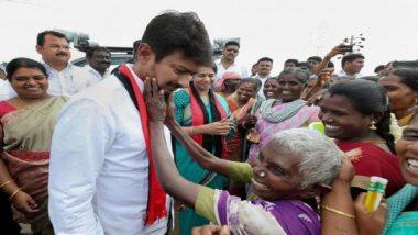Assembly Election Results 2021: DMK चे उमेदवार Udhayanidhi Stalin चेन्नईच्या क्वीन मेरी कॉलेजमध्ये दाखल झाले