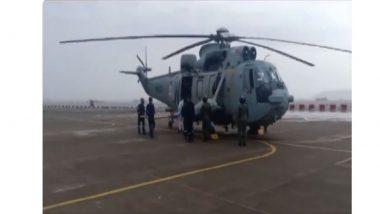 Cyclone Tauktae Update: तौक्ते चक्रीवादळामुळे बाँम्बे हाय परिसरातील 'बार्ज पी-305' जहाजात अडकलेल्या 146 जणांची सुटका; 130 जण बेपत्ता