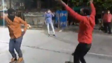 Rajasthan: लॉकडाउनचे नियम मोडणे चांगलेच पडले महागात, पोलिसांनी दोन तरुणांना करायला लावला नागिन डान्स (Watch Video)