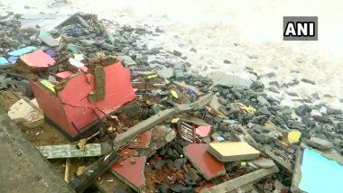 Cyclone Tauktae मुळे केरळ मधील तिरुअनंतपुरम येथे घरांचे मोठे नुकसान (See Pics)