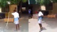 Viral Video: लुंगीचा 'असा' वापर तुम्ही कधी केला आहात का? व्हिडिओ पाहून तुम्हालाही बसेल आश्चर्याचा धक्का