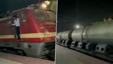 महाराष्ट्र: 45,000 लीटर दूध असलेली First Milk Train नागपूर हून दिल्लीला रवाना (Watch Video)