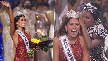 मेक्सिकोची Andrea Maza बनली Miss Universe 2020, COVID19 बद्दल 'हे' उत्तर देत पटकावला पुरस्कार