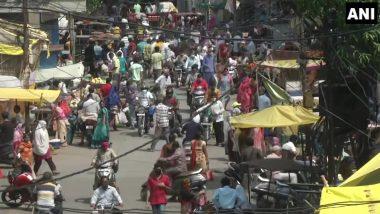 लॉकडाऊन असतानाही नागपूर बाजारपेठेत नागरिकांची मोठी गर्दी (See Pics)