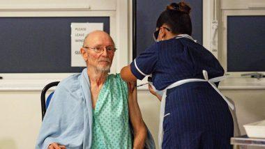 William Shakespeare, युके मध्ये Pfizer-BioNTech Covid-19 Vaccine घेणार्या पहिल्या पुरूषाचं 81 व्या वर्षी निधन