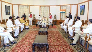 Maratha Reservation: मराठा आरक्षणाच्या मुद्यावरून मुख्यमंत्री उद्धव ठाकरे यांनी राज्यपाल भगतसिंग कोश्यारी यांची घेतली भेट