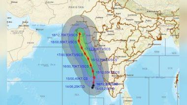 Cyclone Tauktae Day-Wise Forecast: पुढील काही तासात चक्रीवादळ 'अतिजास्त तीव्रते'मध्ये रुपांतरीत होणार; जाणून घ्या वादळाचा मार्ग, वाऱ्याचा वेग व त्याची तीव्रता
