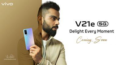 Vivo V21e 5G स्मार्टफोन भारतात पुढील आठवड्यात लॉन्च होण्याची शक्यता; पहा किंमत आणि वैशिष्ट्यं