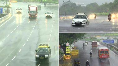 Mumbai Rains Update: मुंबईत रात्रीपासून विजांच्या कडकडाटासह पावसाची कोसळधार, अनेक भागांत वॉटर लॉगिंगची समस्या
