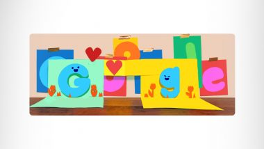 बाबांचा दिवस 2021: Father's Day निमित्त Google चे खास Doodle;  GIF Greeting Card च्या माध्यमातून दिल्या शुभेच्छा