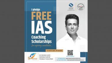 Sonu Sood ने आयएएस विद्यार्थ्यांसाठी लॉन्च केली Free Coaching Scholarship; पहा 'Sambhavam' साठी कसा कराल अर्ज