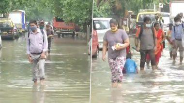 Mumbai Rains: मुंबई मध्ये काल रात्री बरसलेल्या मान्सून पूर्व सरींमुळे सायन परिसरात साचलं पाणी (Watch Video)