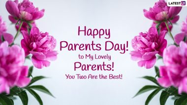 Happy Parents Day 2021 Wishes: जागतिक पालक दिनाच्या शुभेच्छा Facebook Messages, WhatsApp Status, Stickers द्वारा देत व्यक्त करा कृतज्ञता