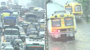 Mumbai Traffic Updates: मान्सूनच्या पहिल्याच दमदार पावसानंतर सखल भागात पाणीच पाणी;  पहा मुंबई लोकल, बेस्ट बस  सेवेतील सध्याचे बदल!