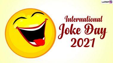 International Joke Day 2021: खळखळून हसवणारे भन्नाट मराठी विनोद!