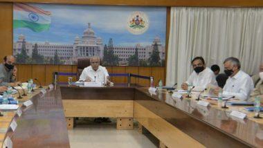 मंत्री जयंत पाटील यांनी घेतली कर्नाटकचे मुख्यमंत्री येडियुरप्पांची भेट; जाणून घ्या कोणत्या मुद्द्यांवर झाली चर्चा